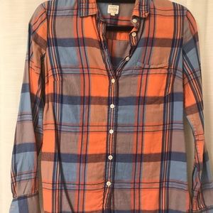 J.Crew Flannel The Perfect Shirt
